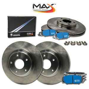 2003 2004 2005 2006 Ford Expedition Oe Replacement Rotors M1 Ceramic Pads F r