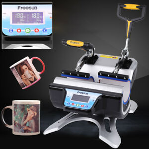 New Heat Press Transfer Sublimation Printing Machine Digital For Cup Coffee Mug
