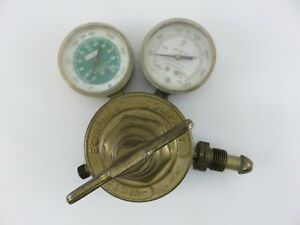 Victor Sr460a Acetylene Gas Regulator Welding Pressure Gauge