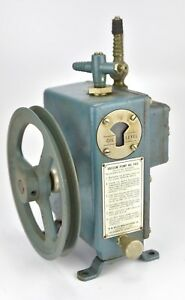 Wegner Vacuum Pump W m Welch Mfg Co Chicago Illinois