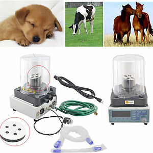 Vet Veterinary Anesthesia Ventilator Pneumatic Driving Led Display Fda New Sale