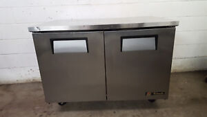 True Tuc 48f Under Counter Freezer Worktop Prep Table Tested 115v