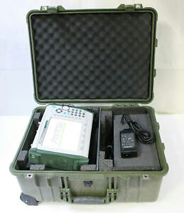 Anritsu Ms2721b Spectrum Analyzer 9khz 7 1ghz Opt 20 Tracking Generator W Case