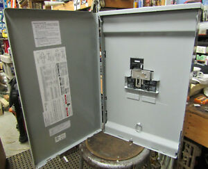 Reliance Controls 200 amp Utility 50 amp Generator Outdoor Manual Transfer Panel