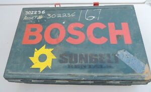 Bosch Sds Rotary Hammer Drill Carry Case
