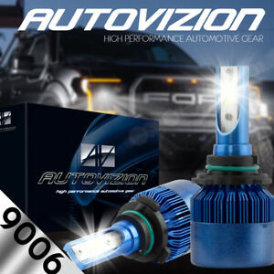 9006 Led Headlight Bulb Kit For Honda Civic Odyssey Accord Low Beam Replacement