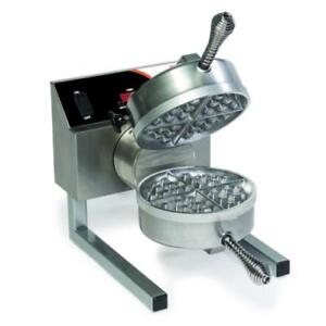 Nemco 7020a Single Belgian Waffle Baker With Removable Grid