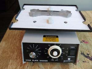 Barnstead Lab line 4625 Titer Plate Shaker W Holding Clamp Many Available