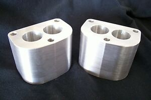 Fits Stromberg 97 48 Holley 94 Intake Manifold Spacer Aluminum Riser 3 Tall D