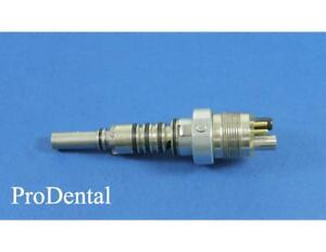 Midwest Xgt stylus Fiber optic 6 pin Dental Handpiece Coupler Prodental