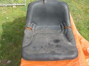 Kubota B7100d Seat With Mounting Bracket And Suspension Parts