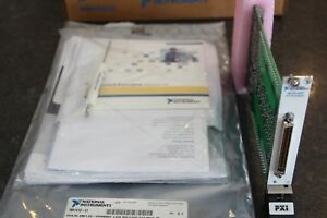 National Instruments Ni Pxi 2501 Fet Multiplexer 777969 01 24 Ch New With Acc