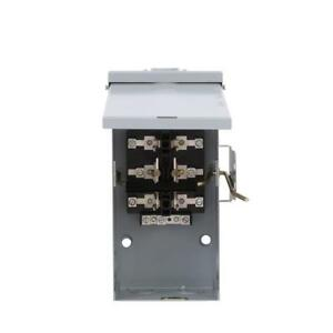 Ge 100 Amp 240 Volt Non Fused Emergency Power Transfer Switch Double Throw Safe
