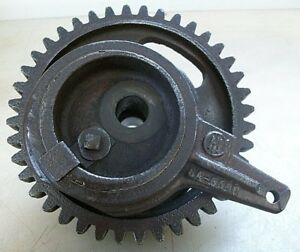 3hp Ihc Famous Vertical Cam Gear W Water Pump Eccentric Drive strap Old Engine