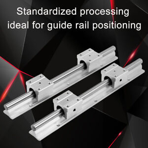 2pc Sbr12 300mm 12mm Linear Slide Rail Shaft 4pc Sbr12uu Bearing Slide Block Z