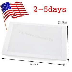 Us Popular Dentist Dental X ray Film Illuminator Light Box Viewer Light Panel A4