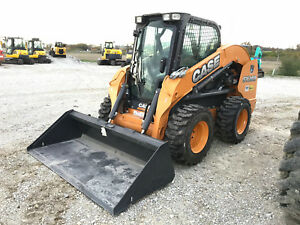 2015 Case Sv300 Skid Steer Cab A c 2 Speed Hyd Quick Attach Ready To Work