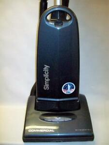 Simplicity 6 Series Commercial Upright Vacuum Cleaner With Hose And Attachments