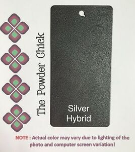 Silver Hybrid 009 90190 Powder Coating Paint 5lb Bag New