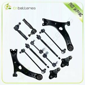 12pieces Control Arm Front Rear Suspension Kit For 2001 2003 Rav4 Toyota