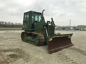 1998 Case Mc1150e 6way Dozer W Winch Cab Ac Usmc Unused Condition