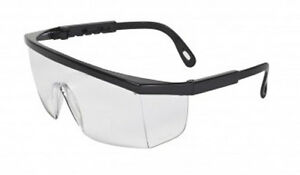 24 Global Vision Boxy Safety Glasses Clear Ansi Z87