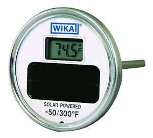 Wika Ti 80 Stainless Steel 304 Solar Digital Thermometer 50 300 Degree New