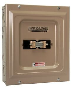 Panel 100 amp Utility 60 amp Transfer Switch For Generators Up To 15000 Watts