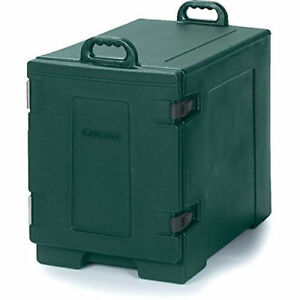 Green Cold Warm Food Pan Carrier Kitchen Insulated Transport Restaurant Caterer