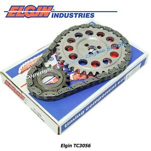 New Timing Chain Gear Set Fits Sb Chevy 5 7l 350 Vortec 400 410 Tooth Width