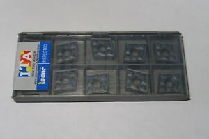 10 New Iscar Cnmg 432 Tf Cnmg120408 tf Grade Ic907 Carbide Inserts Israel