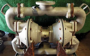 1 Used Sandpiper Sa3 a Air Powered Double Diaphragm Pump Type Dn 7 make Offer
