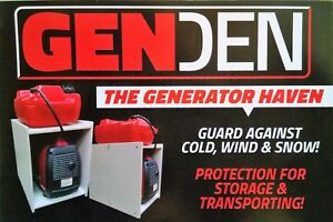 Honda Eu2000i Yamaha Compact Generator Weather Run Box Out Of Rain Snow