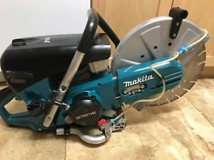 Makita Ek7651hd 14 Mm4 Gas Cut off Concrete Saw W blade