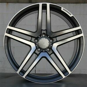 18 Amg S65 Style Wheels Rims Fits Mercedes Benz S Class S320 S430 S500 S550