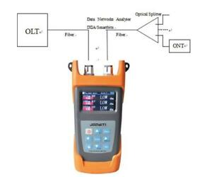 Pon Optic Power Meter Fttx Pon With Red Laser Visual Fault Locator Fiber Optic