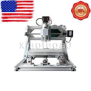 Mini Cnc 1610 500mw Laser Cnc Engraving Machine Pcb Milling Wood Router In Usa