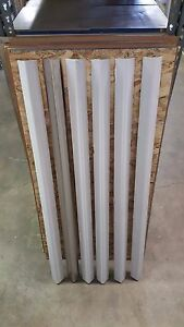 Stainless Steel Corner Guards 1 1 2 X 1 1 2 X 72 set Of 4