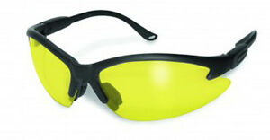 12 Global Vision Contender Safety Glasses Yellow Lenses Ansi Z87