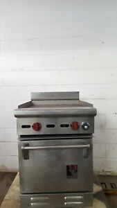 Wolf C235 155 Flat Griddle 22 X 22 Half Size Oven 18 X 22 Natural Gas Tested