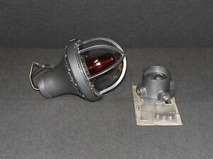 Tomar 3100 ep Red Explosion Proof Power Strobe M245 For Killark Hp Hx Boxes
