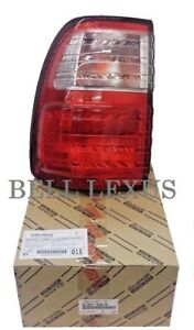 Lexus Oem Factory Driver Rear Outer Tail Lamp Lens 1998 2005 Lx470
