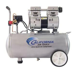 Electric Air Compressor Portable Ultra Quiet Oil free Framing Inflation Spraying