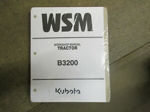 Kubota B3200 B 3200 Tractor Service Repair Manual