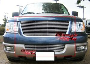 Fits 2003 2006 Ford Expedition Billet Grille Combo