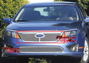 Fits 2010 2011 Ford Fusion Stainless Steel Mesh Grille