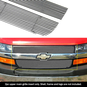 Fits 2003 2016 Chevy Express Explorer Conversion Van Billet Grille Insert