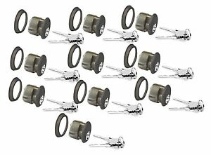 10 Ilco Sc1 Schlage Keyway Mortise Cylinders For Adams Rite Storefront Locks