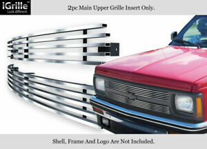 Fits 1991 1992 Chevy S 10 S10 Pickup s 10 Blazer Stainless Steel Billet Grille