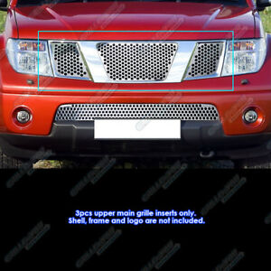 Fits 2005 2007 Nissan Pathfinder 05 08 Frontier Logo Cover Punch Sheet Grille